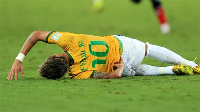World Cup - Neymar remains focus as Brazilian D-Day looms
