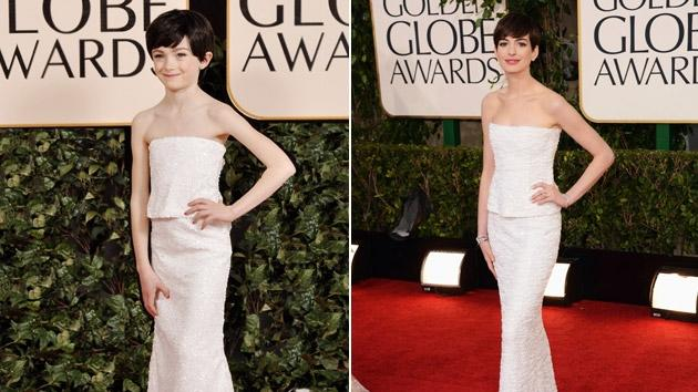 Golden Globes Turned Toddler Sized