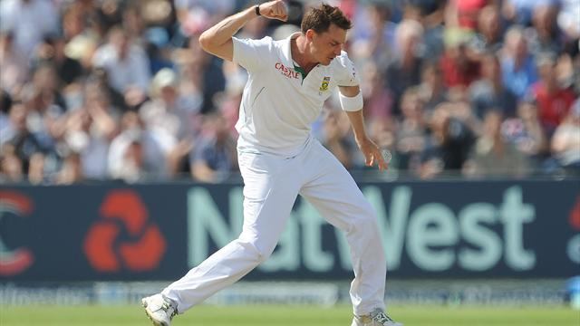 Cricket - South Africa's Steyn dismantles New Zealand
