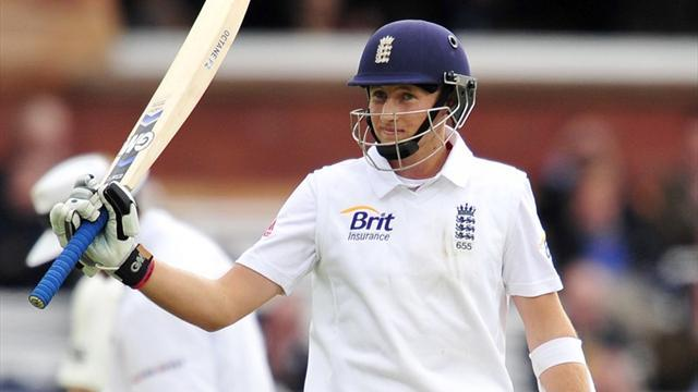Cricket - Root shines for England before New Zealand fightback