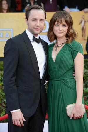 Vincent Kartheiser and Alexis Bledel arrive at the 19th Annual Screen Actors Guild Awards held at The Shrine Auditorium on January 27, 2013 in Los Angeles -- FilmMagic