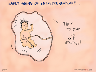 Are You Born an Entrepreneur? Or Can it be Learned? image entrepreneurfail Early Signs of Entrepreneurship 600x450