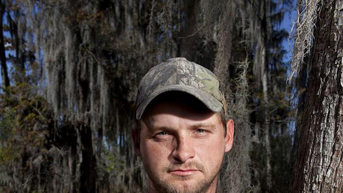 "Randy in ""Swamp People."""