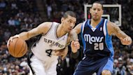 Danny Green (Spurs) y Devin Harris (Mavericks) - NBA