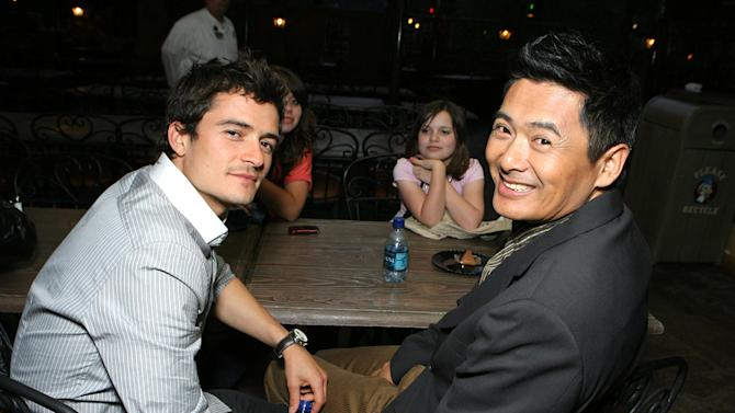 Orlando Bloom and Chow Yun Fat