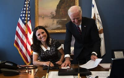 HBO's 'Veep' Meets The Real VP: Photo