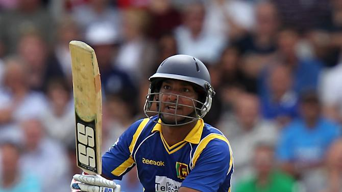 Kumar Sangakkara's unbeaten 42 helped Sri Lanka clinch the ODI series