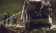 California Bus Crash: At Least Eight Dead