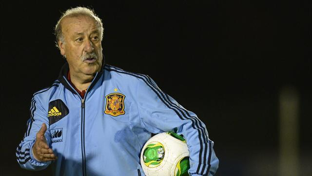 World Cup - Del Bosque agrees new Spain deal