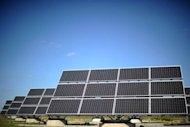 Solar panels from German company Bosch Solar Engery are shown in Arndstadt near Erfurt, eastern Germany. A host of EU solar makers haved called on the European Commission to probe alleged dumping practices by its Chinese rivals, as Beijing warned an investigation could trigger a trade war
