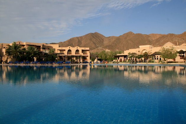 beach resort in Fujairah, UAE