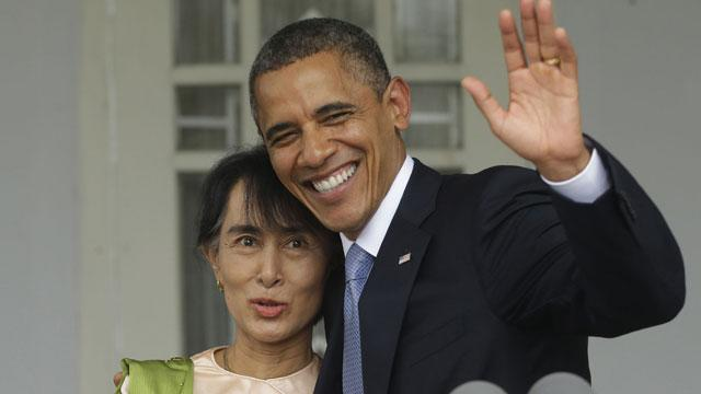 Obama Begins Historic Visit to Myanmar