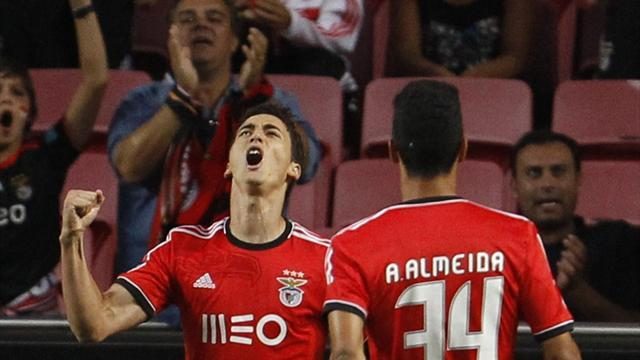 Champions League - Benfica's Serb contingent prove worth on European stage