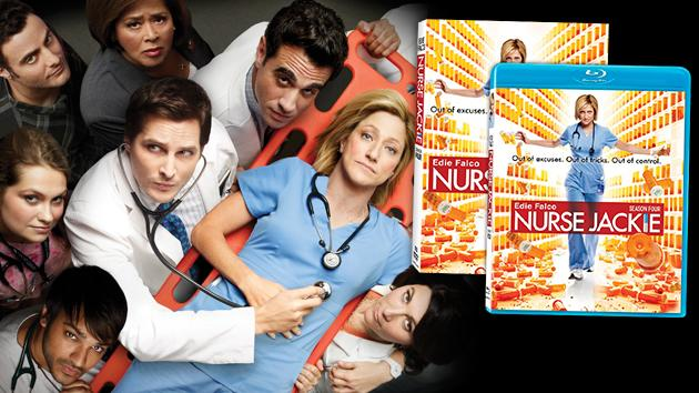 """Nurse Jackie"" Season 4 DVD & Blu-Ray"