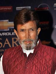 Indian Bollywood actor Rajesh Khanna in January 2012
