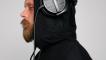 Gaming hoodie made for headphones
