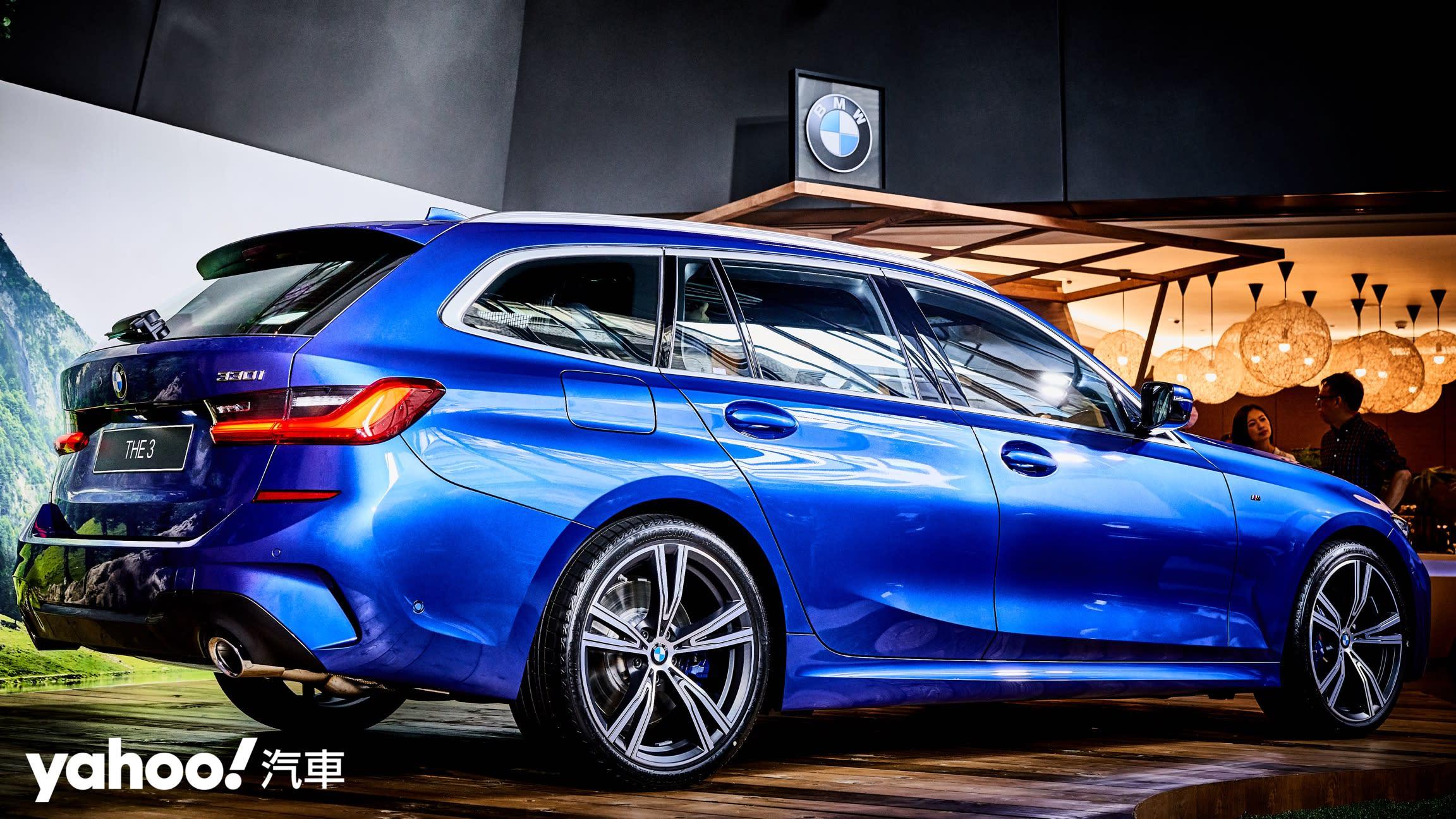 【新車圖輯】最殺Wagon終於現身!全新BMW 3 Series Touring正式登台236萬起!