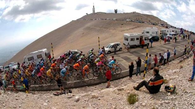 CYCLING Mont Ventoux NOT IN FRA & ITA