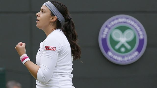 Wimbledon - Bartoli dismisses Flipkens to reach final