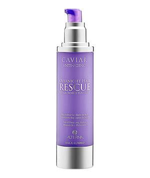 Alterna's Caviar Anti-Aging Overnight Hair Rescue treatment