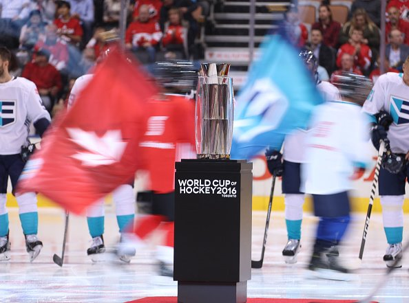 TORONTO, ON - SEPTEMBER 27: during Game One of the World Cup of Hockey 2016 final series at the Air Canada Centre on September 27, 2016 in Toronto, Canada. (Photo by Dave Sandford /World Cup of Hockey via Getty Images) *** Local Caption ***