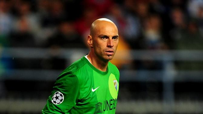 Football - Man City sign Malaga star as competition for Hart