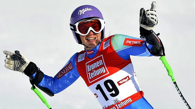 Alpine Skiing - Maze fastest in Meribel, Kueng on top in Garmisch