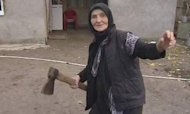 Wolf Attack: Russian Granny Fights Off Beast
