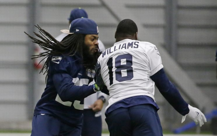 Seahawks warned, not punished regarding CB Richard Sherman