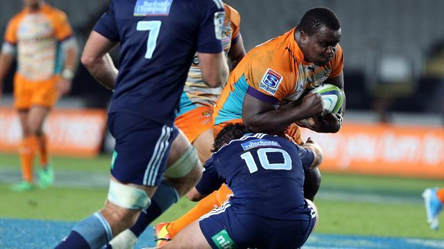 Super Rugby - Hickey kicks Blues to victory over hard-running Cheetahs