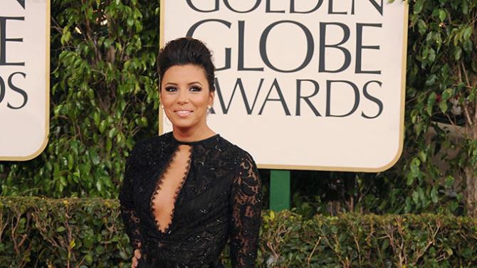 70th Annual Golden Globe Awards - Arrivals: Eva Longoria