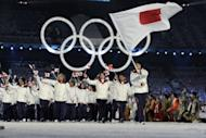 The Japanese delegation tours the stadium during the opening ceremony of the 2010 Winter Olympics in Vancouver. The International Olympic Committee could give a huge boost to the healing process in Japan after the trauma of last year's tsunami -- if they award Tokyo the 2020 Games, bid leader Tsunekazu Takeda said on Saturday