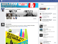 Is Facebook's Enhanced News Feed(s) A Marketer's Dream Come True? image Facebook Music News Feed