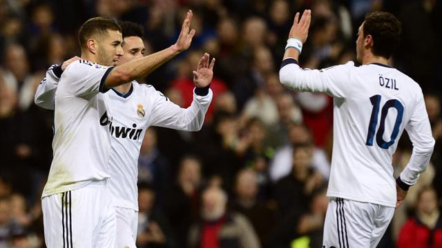 Liga - Benzema on form as Real Madrid hammer Athletic Bilbao