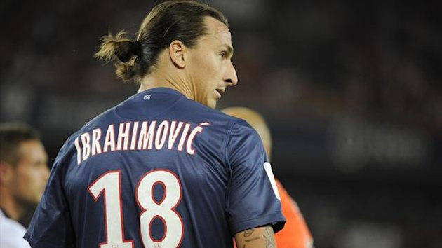 FOOTBALL - 2012/2013 - PSG - Ibrahimovic