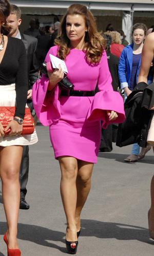 Coleen at Aintree