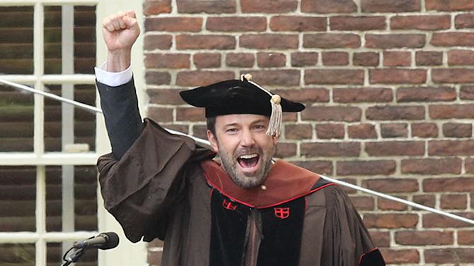 Ben Affleck Receives Honorary Degree from Brown University