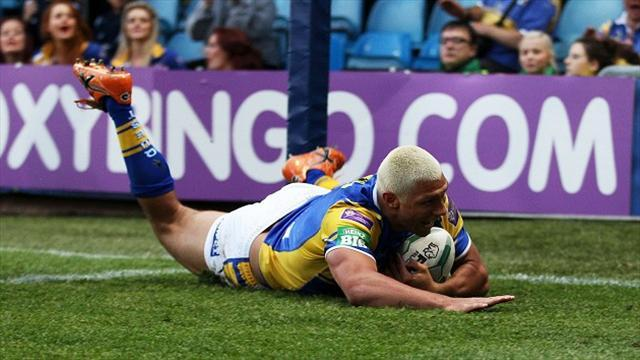 Rugby League - Leeds Rhinos hold off spirited Widnes