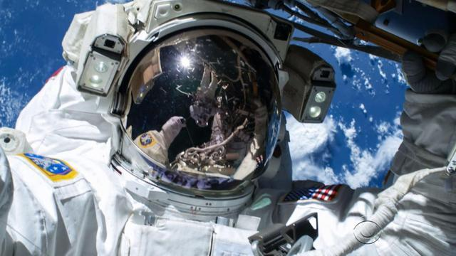 Two Americans complete third spacewalk in eight days