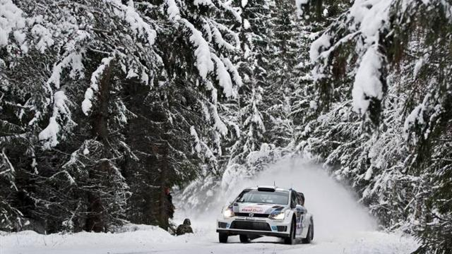 Sweden Rally - Ogier pulls clear of field