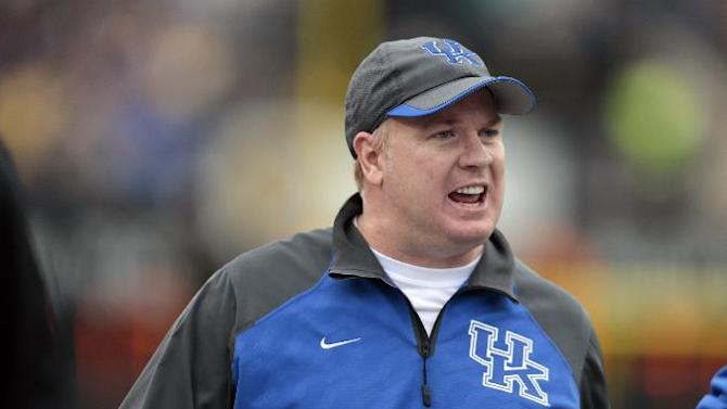 Kentucky opens fall practice seeking improvement