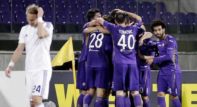 Video: Fiorentina vs Dynamo Kyiv
