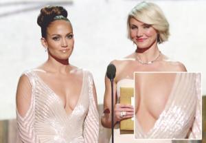 "Jennifer Lopez's Oscar Nip Slip: ""No Chance,"" Says Stylist"
