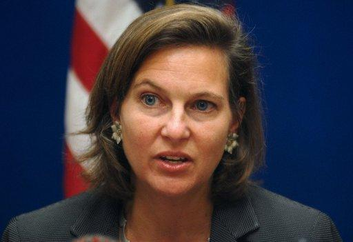 US State Department spokeswoman Victoria Nuland, pictured in 2007