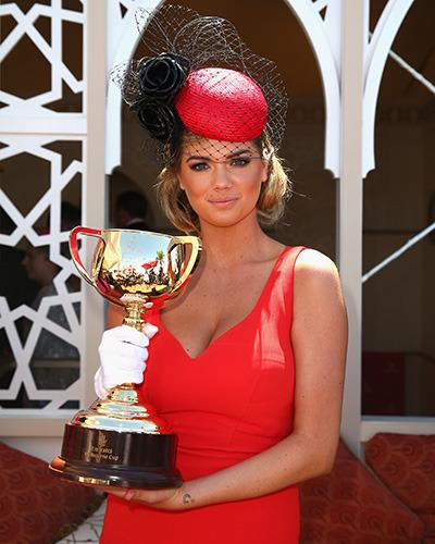 Unforgettable Kate Upton moments: Melbourne Cup