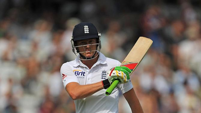 Jonny Bairstow, pictured, and Eoin Morgan helped England to reach 338 for six against Mumbai A