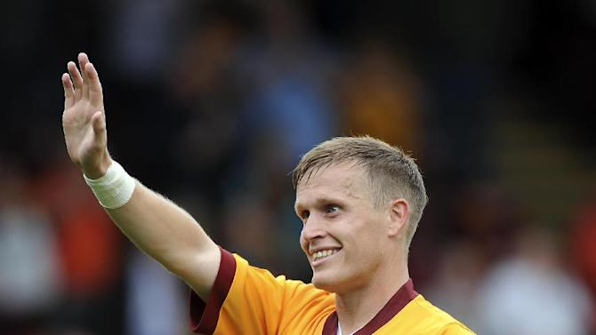 Stevie Hammell is aiming to provide Motherwell fans with some European cheer