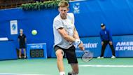 Kevin Anderson and the seeded Adrian Mannarino were among those making early exits at the Memphis Open.