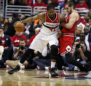 Bulls beat Wizards 100-97, trail series 2-1