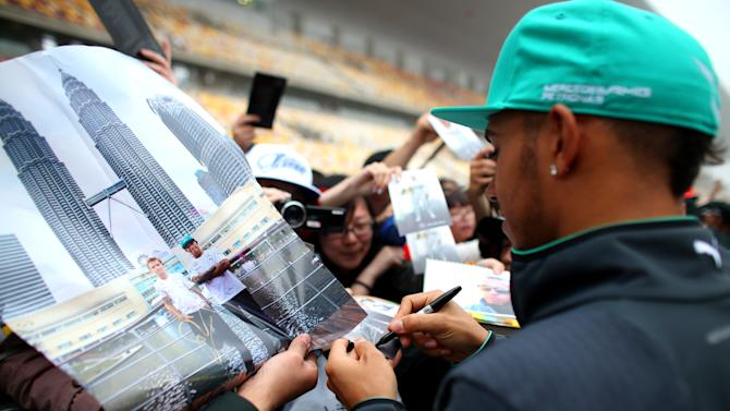 F1 Grand Prix of China - Previews
